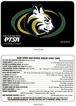 Spirit Card Front - Back