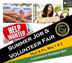 Job and Volunteer Fair