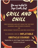 Grill & Chill Sept 22