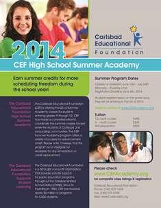 CEF High School Summer Academy