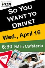 Driving Seminar 4/16