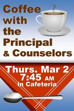 2017 Coffee With Principal Counselors 20x30