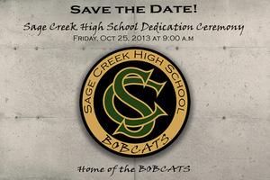 SCHS Dedication 10/25/13