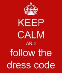 keepcalmdresscode