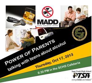 Oct 17 Power of Parents Presentation