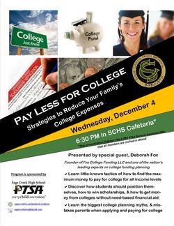 College Funding Seminar