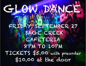 Glow Dance Fri Sept 27