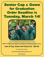 Cap and Gown Advertisement