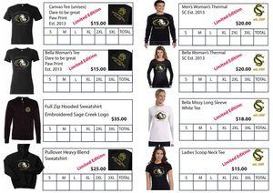 SCHS Spirit Wear Order Form