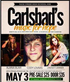 Concert for Hope May 3