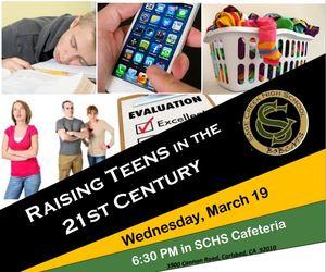 Raising Teens In 21st Century