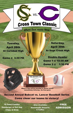 2016 Crosstown Classic Poster 11x17